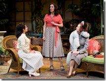 "Atra Asdou, Karen Janes Woditsch and Tiffany Scott in Writers' Theatre's ""Heartbreak House"" by George Bernard Shaw."