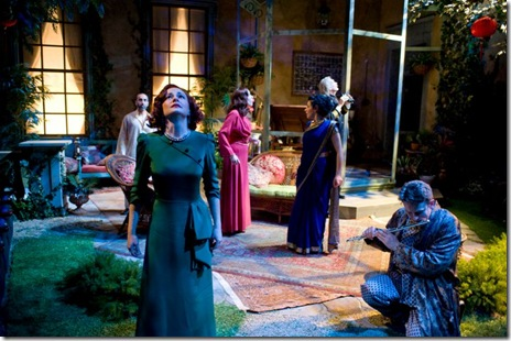 "A scene from George Bernard Shaw's ""Heartbreak House"", now playing at Writers Theatre."