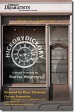 Hickorydickory - Chicago Dramatists poster