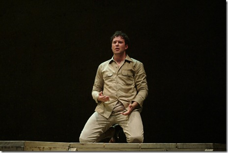 "Joseph Kaiser in Chicago Opera Theater's ""HE/SHE"". Photo by Liz Lauren."