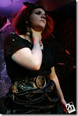 "Laura Deger in 20% Theatre's ""Electra and Orestes"".  Photo credit: Linda Oleska"