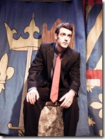 """A scene from Strangeloop Theatre's production of """"The Maid of Orleans"""" by Friedrich Schiller."""