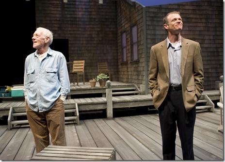 John Mahoney (Gunner) and Thomas J. Cox (Jack).