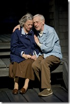 Rondi Reed (Peg) and John Mahoney (Gunner).