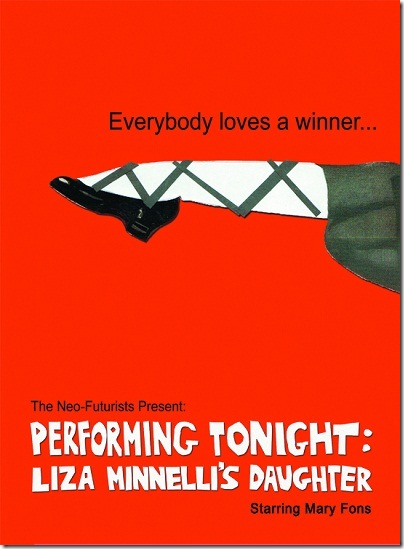 Performing Live - Neo-Futurists - poster