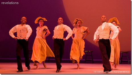 Alvin Ailey REVELATIONS, Move, Members, Move