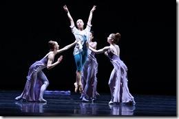 "Night featuring Anastacia Holden (center) in Joffrey Ballet's ""Rising Stars"""