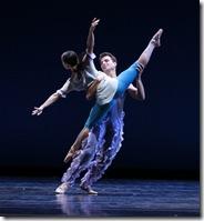 "Night: Anastacia Holden, Derrick Agnoletti in Joffrey Ballet's ""Rising Stars"""