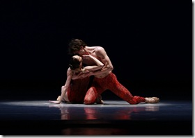 "Bells: Temur Suluashvili & Victoria Jaiani in Joffrey Ballet's ""Rising Stars"""