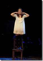 "Elizabeth Judd as Wendla in the national tour of ""Spring Awakening"" Photo credit: Andy Snow ©2010"