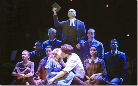 "The Cast of ""Spring Awakening"" national tour. ©2010 Andy Snow"